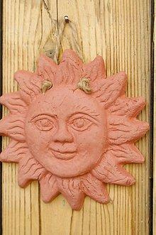 Dekorácie - Terakotové slniečko - 3513519