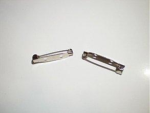 Galantéria - Zapínací špendlík brošňový 31x6mm - 3514832