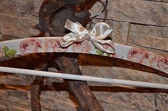 Nábytok - Romantický vintage vešiak - 3515656