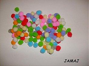 Galantéria - farebné guličky - 3516292