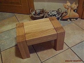Nábytok - stolček BM002 - 3517374