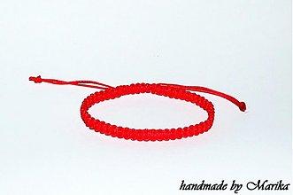 Šperky - ochranný kabbalah náramok proti urieknutiu pre mužov - 3520828