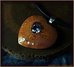 Náhrdelníky - Náhrdelník 353. SLIVKA koreň - AQUAMARÍN - 3521069