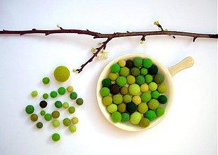 Iné šperky - Komu sa nelení, tomu sa zelení - 3521426