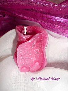 Svietidlá a sviečky - Lupienky ruže - rôzne farby - 3521533
