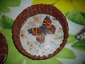 Košíky - Košík motýlik - 3521854