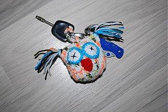 Kľúčenky - haćkovaná klúčenka - 3523270 dcb3c722490