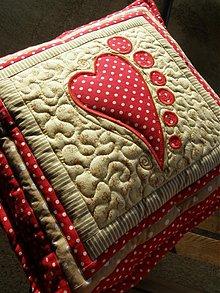 Úžitkový textil - Srdce k srdcu... :)) - 3527336