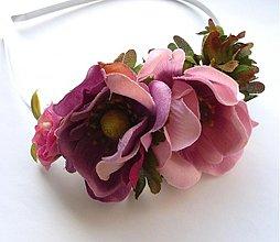 Ozdoby do vlasov - Z ružovej záhrady III - 3528268