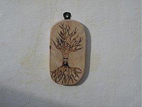 Obrazy - Mrzutý dedo drevený - 3530922