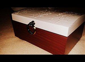 Krabičky - Ornament kvietky - 3535228