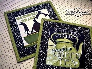 Úžitkový textil - Tea Time No.2 ( sada 2 ks) - 3535407