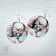 Náušnice - Náušnice Fun Lovin' Criminal (plastové) - 3535820