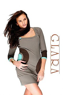 Retro šaty   JaneBond - SAShE.sk - Handmade Šaty 001e45984bc