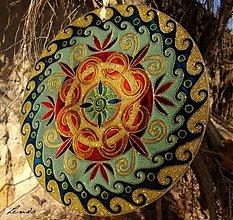 Dekorácie - Rodinná Mandala - 3537663