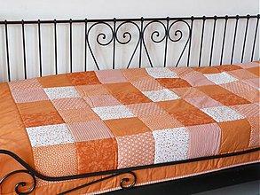 Úžitkový textil - patchwork deka 140x200 alebo 220x220 a vankúš za super cenu - 3537795