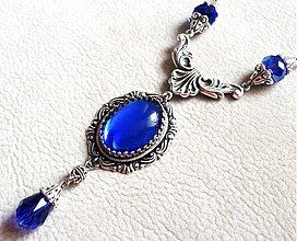 Náhrdelníky - Blue Magic Stone - 3539593