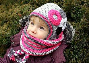 Detské čiapky - Keď príde Perinbabka... - 3539842