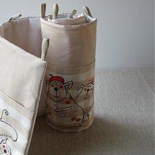 Úžitkový textil - ZVÍŘÁTKA ... kapsář, zástěna za postel - 3541513