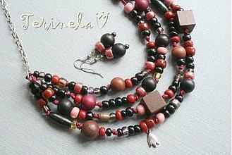 Sady šperkov - Náhrdelník + náušnice © Santalová vůně ... - 3541949