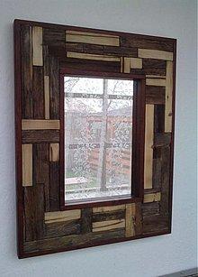 Zrkadlá - zrkadlo rustic - 3544301