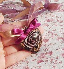 Náhrdelníky - Ruža v srdci 2 - 355012