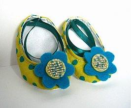 Topánočky - Capacky s gulickami - 355095