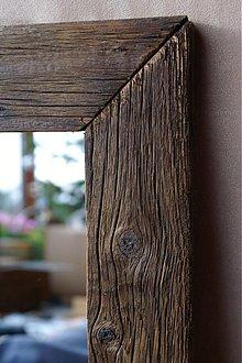 Zrkadlá - Zrkadlo v starom dreve - tmavé - 3553165