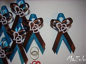 Pierka - svadobné pierko VEĽKÉ ♥ ♥  č.2 - 3553465