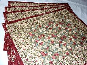 Úžitkový textil - Prestieranie - Romantično. - 3553739
