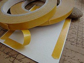Farby-laky - Obojstranná lepiaca páska TRHACIA, 50 metrov, šírka 6 mm - 3554334