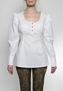 Topy - Biela blúzka - 3558967