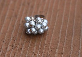 Prstene - Sivý prsteň - 3559066