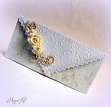 Papiernictvo - Svadobná obálka