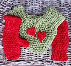 Rukavice - zamilované rukavičky - 3560899