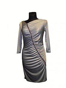 Šaty - strieborné - 3564752