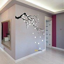 Dekorácie - 3418N nálepka na stenu Sakura - 3567127