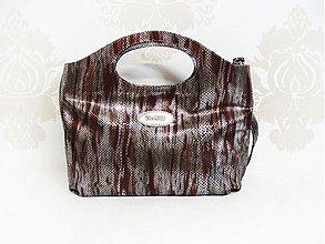 Kabelky - Kožená kabelka Naďa \