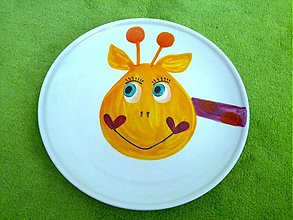 Nádoby - tanierik so žirafkou - 3571942