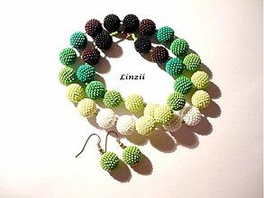 Sady šperkov - Barvy Země - 3576811