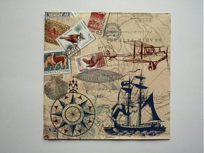 Papier - 166 RETRO námornícka - 3578806
