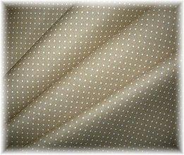Textil - bavlněná látka-bodka - 3585665