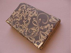 Peňaženky - Peňaženka sivá * - 3586048