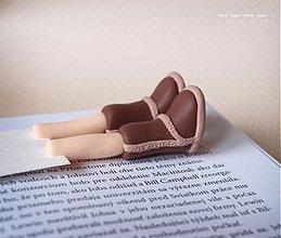 Papiernictvo - Záložka kniho-nôžka - 3586083