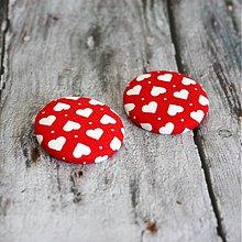 Materiál ručne robený - Zamilované buttony III. - 3586326