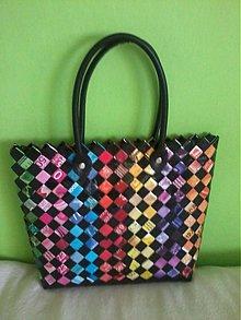 Veľké tašky - Farebná ecoistka - 3588633