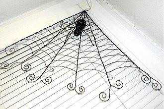 Dekorácie - Pavučina s pavúkom :) - 3590236