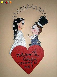 Tabuľky - Menovka svadobná - 3591883