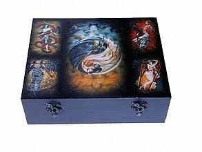 Krabičky - Čajová krabica - 3591936
