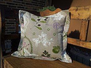 Úžitkový textil - Ľanová obliečka Provence I - 3592935